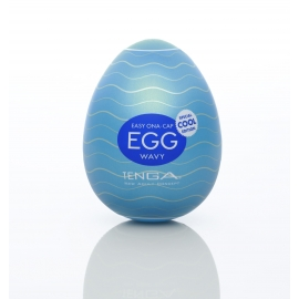 Tenga Cool Egg - Wavy