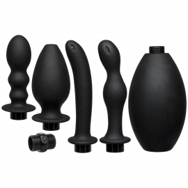 Kink Flow Full Flush Silicone Anal Douche