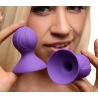 Violets Silicone Nipple Suckers