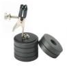 Fardeau mamelon Clip W/Magnet poids
