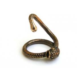 Brass Snake Cock Plug