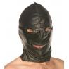 Estrito couro Zipper básico Hood