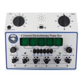 6 Canal Deluxe Electrosex Power Box