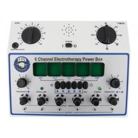 6 canales caja Deluxe alimentación Electrosex