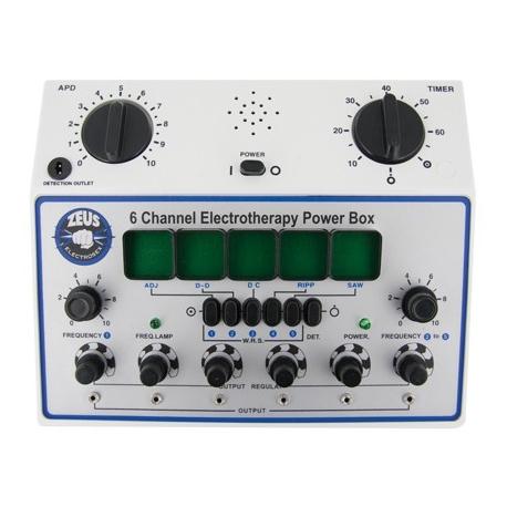 6 Canal centralita Electrosex Deluxe
