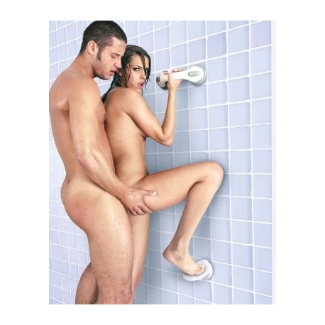 Sex In The Shower Single Locking Suction Foot Rest