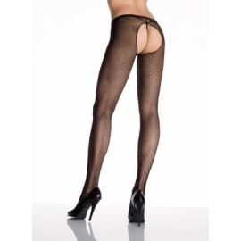 Mallas Crotchless Pantyhose