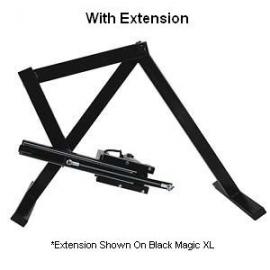 Braço de extensão de 14 polegadas de magia negra