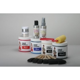 Kit de peinture de carrosserie Latex liquide