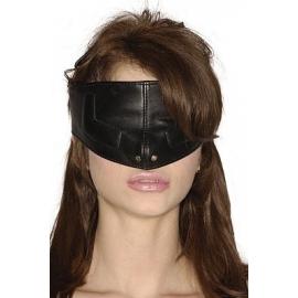 Máscara de Face superior de couro estrito