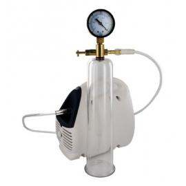Pompe électrique Deluxe avec cylindre et jauge