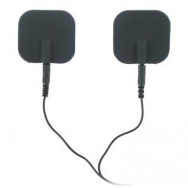 Zeus Deluxe negro Electro almohadillas