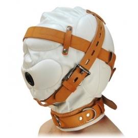 Capa de couro branco total privação sensorial