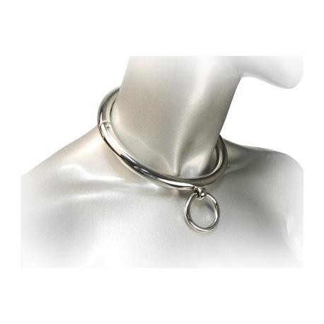 Collar bdsm de acero pesado