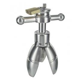 Trillium Steel Locking Anal Plug