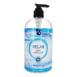Flux propre Relax désensibilisant Anal Lube - 17,5 oz