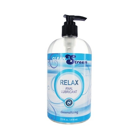 Clean Stream Relax Desensitizing Anal Lube - 17.5oz