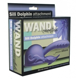 Baguette Essentials Sili Dolphin Wand Attachment