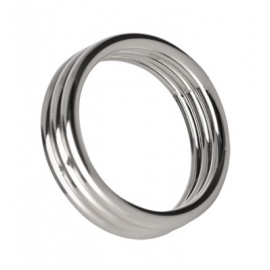 Echo 2 Inch Stainless Steel Triple Cock Ring