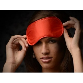Le Boheme Satin Blindfold (Red)