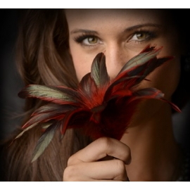 GreyGasms Scarlet Plume plume Tickler