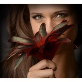 Scarlet GreyGasms pluma pluma Tickler