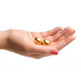 Small Stainless Steel Golden BenWa Balls