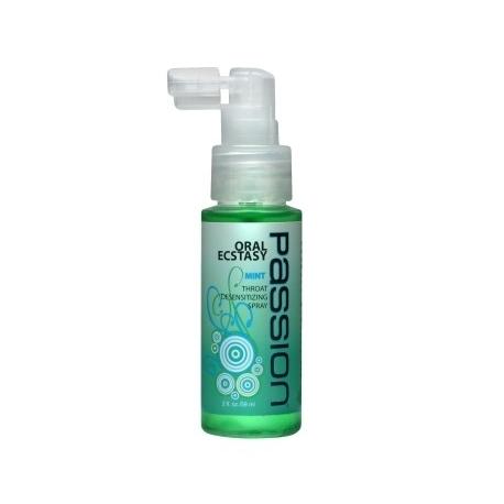 Passion Oral Ecstasy Throat Desensitizing Spray (2 oz.)