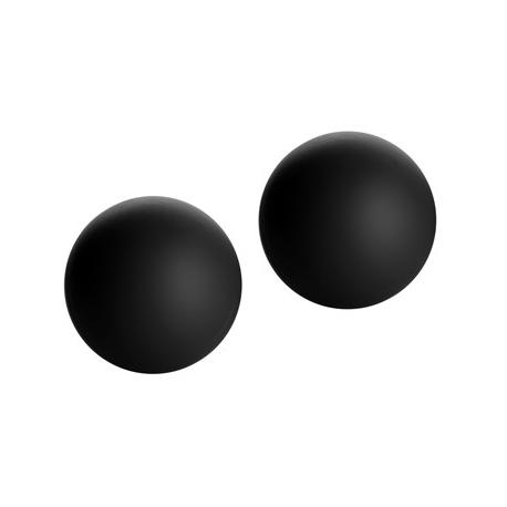 Marqués aterciopelado Ben Wa Balls (negro)