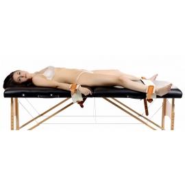 Conjunto de contenção de estilo hospital (pulsos e tornozelos)