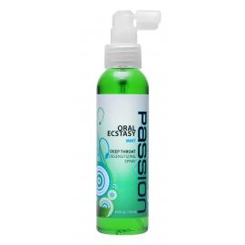 Éxtasis oral menta con sabor a garganta profunda Numbing Spray 4 oz.