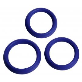 Pièce 3 anneaux de Silicone érection