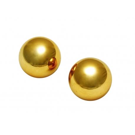 Señores 1 pulgada oro Benwa bolas