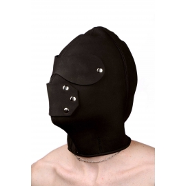 Neoprene Hood with Eye and Mouth Holes- ML