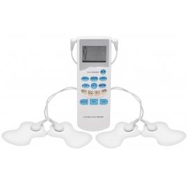 Masajeador de pulso eléctrico Dual de OM