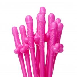 Dicky pénis en sirotant paillettes - rose