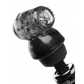 Copa Vibra negro masturbación masculina tubo accesorio