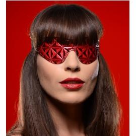 Crimson liée Blackout complet en relief avec les yeux bandés