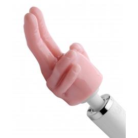 Placer puntero dos dedos tubo accesorio