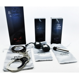 Fifty Shades Ben Wa Vibrating Bullet & Cuff Kit