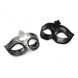 Cincuenta sombras Masquerade máscara Twin Pack