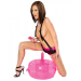 Fetish Fantasy Inflatable Pink Hot Seat