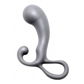 Prostatic Play Crusade Silicone Prostate Plug with Angled Head