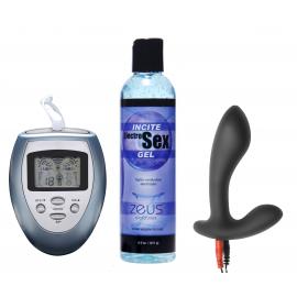 Electrificar su Kit de Estim de próstata de silicona