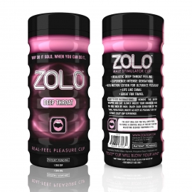 Zolo Deep Throat Real-Feel Pleasure Cup