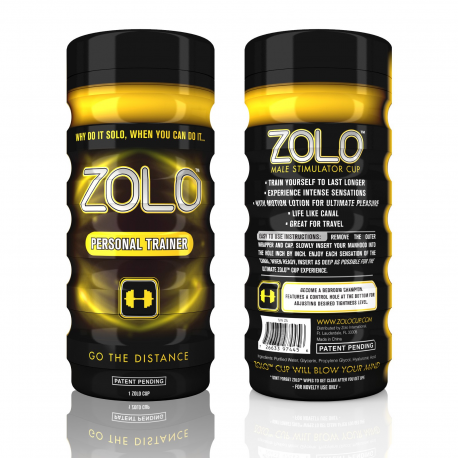 Zolo Personal Trainer Real-Feel Pleasure Cup